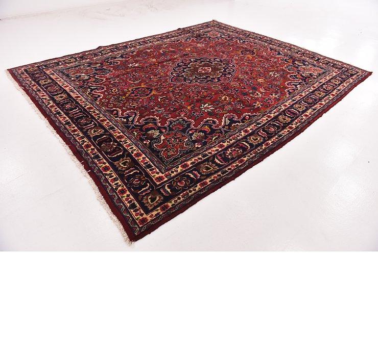 HandKnotted 9' 8 x 12' 4 Mashad Persian Rug
