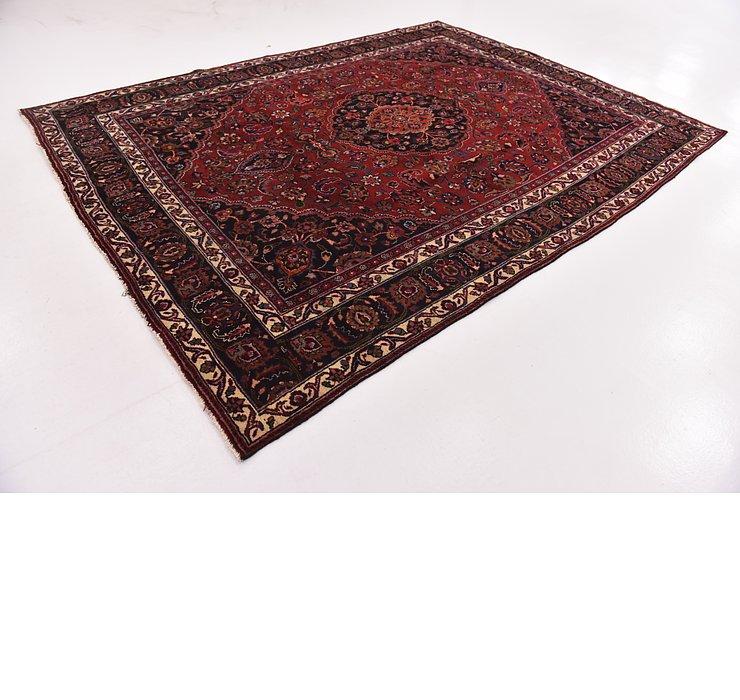 HandKnotted 8' 6 x 11' 6 Mashad Persian Rug