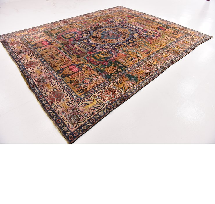 9' 6 x 12' 2 Kashmar Persian Rug