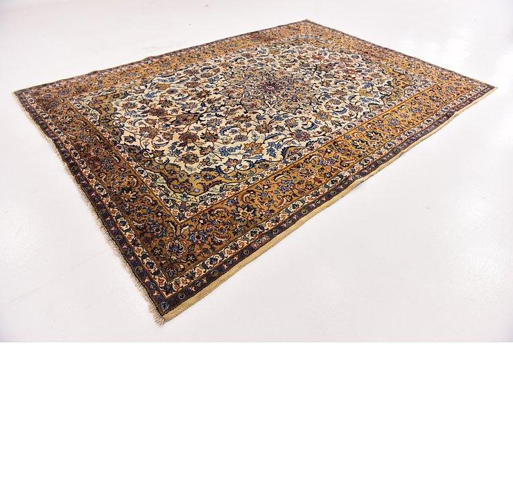 HandKnotted 8' 2 x 11' 4 Isfahan Persian Rug