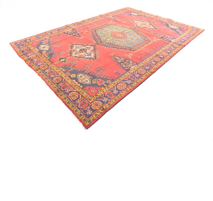7' x 10' 6 Viss Persian Rug