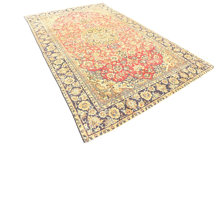 7' 2 x 11' 4 Isfahan Persian Rug