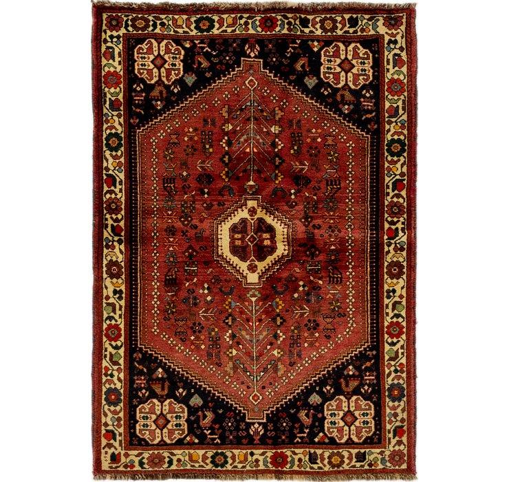 3' 8 x 5' 4 Ghashghaei Persian Rug