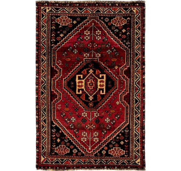 3' 6 x 5' 4 Ghashghaei Persian Rug