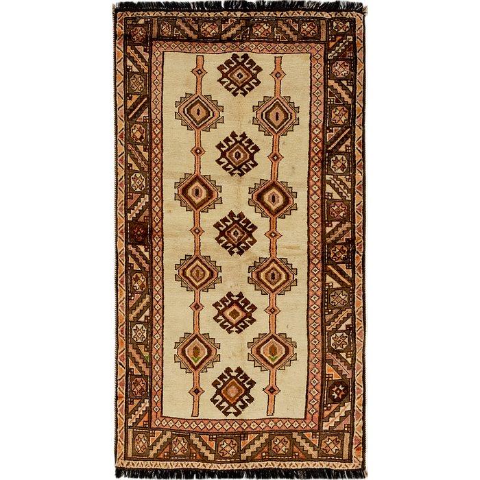 3' 7 x 6' 10 Shiraz Persian Rug