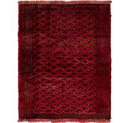 Link to 112cm x 135cm Shiraz Persian Square Rug