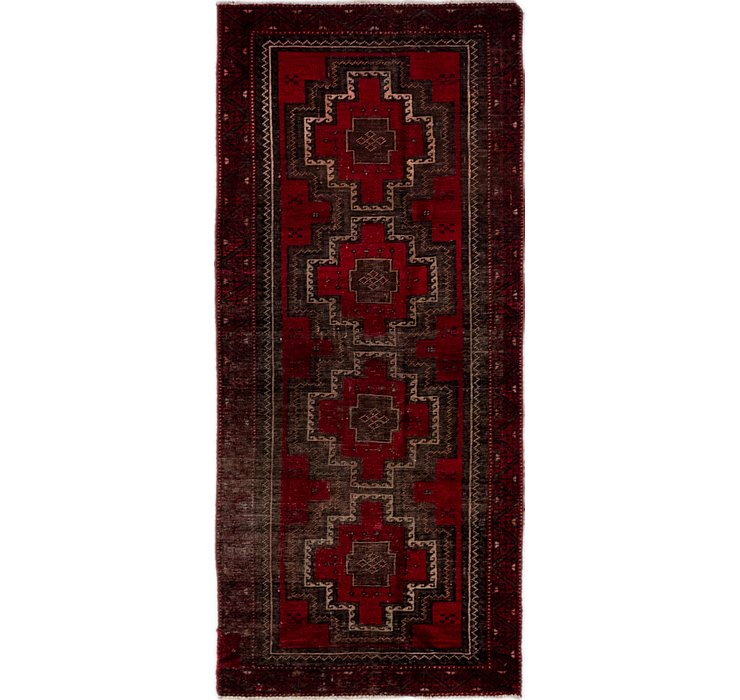 2' 5 x 5' 5 Balouch Persian Runner ...