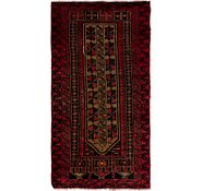 Link to 2' 4 x 4' 5 Balouch Persian Rug