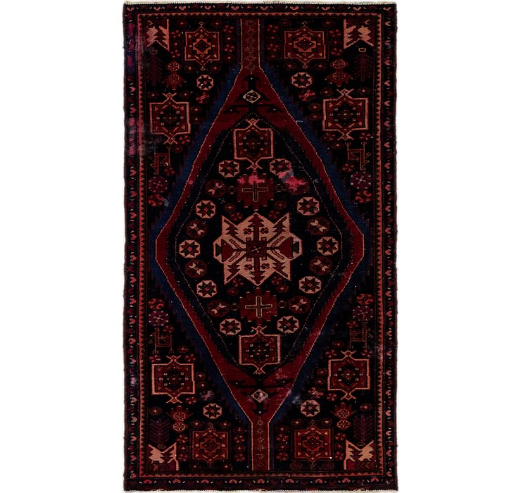 3' 4 x 6' Hamedan Persian Runner ...