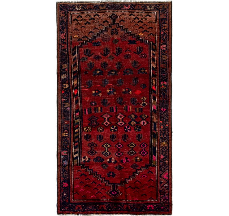 3' 4 x 6' 3 Shiraz Persian Rug