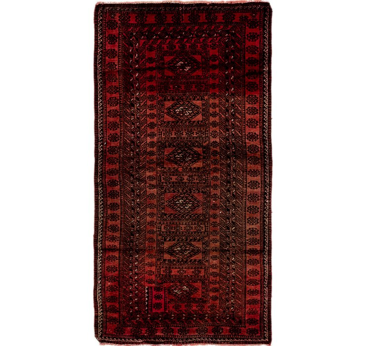 3' 3 x 6' Balouch Persian Rug