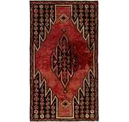Link to 102cm x 173cm Mazlaghan Persian Rug