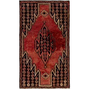 Link to 102cm x 173cm Mazlaghan Persian Rug item page