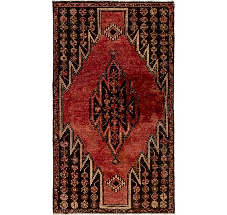 3' 4 x 5' 8 Mazlaghan Persian Rug