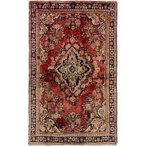 4' x 6' 5 Meshkabad Persian Rug