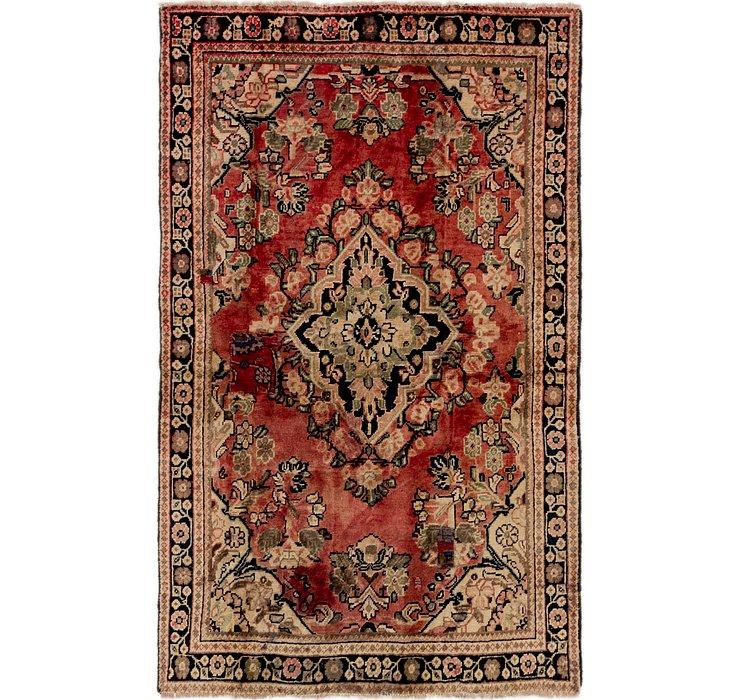 122cm x 195cm Meshkabad Persian Rug