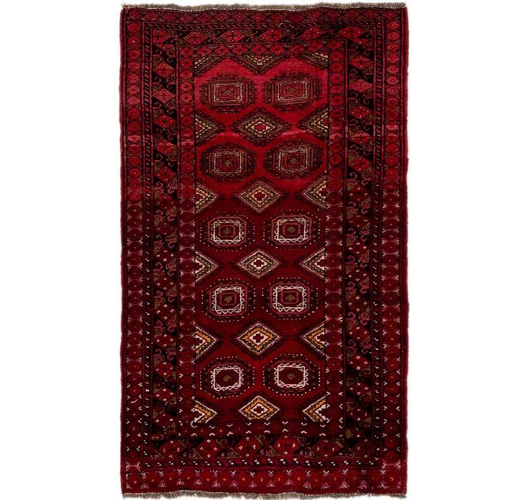 100cm x 170cm Afghan Akhche Rug