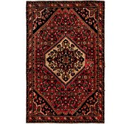 Link to 3' 8 x 5' 7 Hossainabad Persian Rug