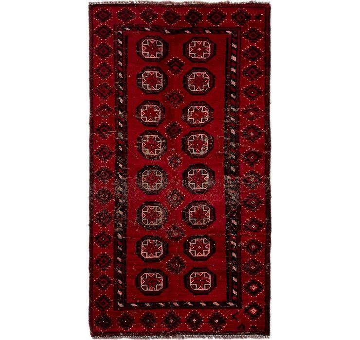 3' 2 x 5' 6 Ferdos Persian Rug