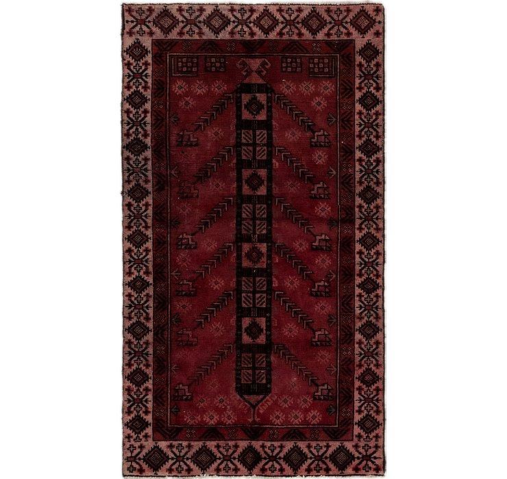3' 7 x 6' 5 Ferdos Persian Rug