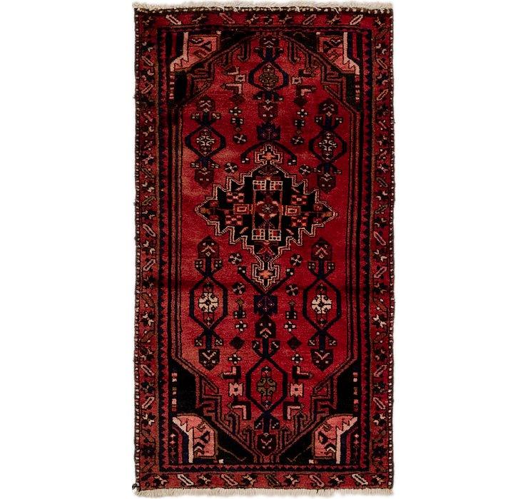 3' x 5' 4 Hamedan Persian Rug