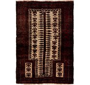 Link to 100cm x 142cm Balouch Persian Rug