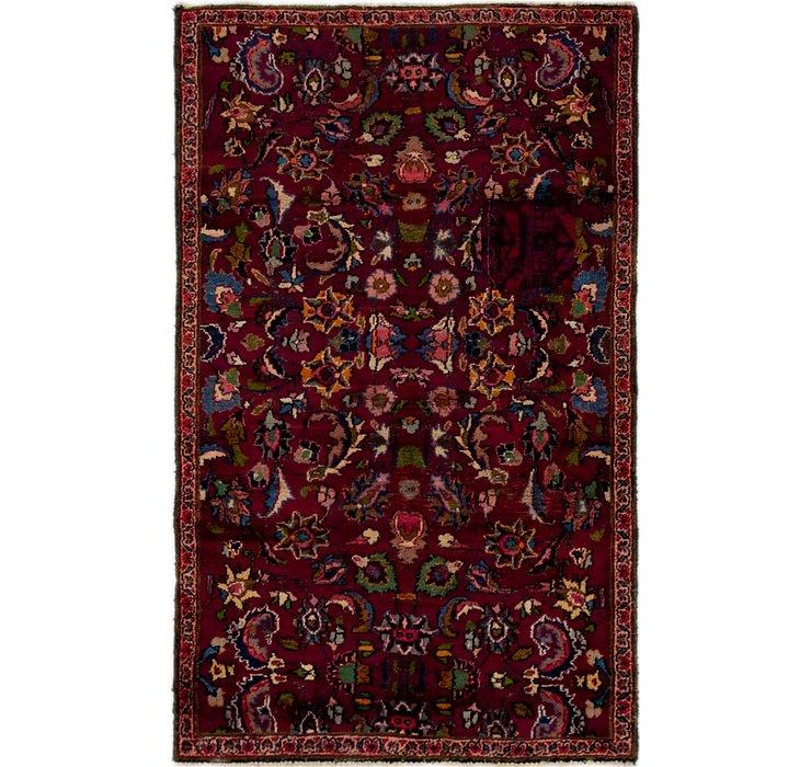 3' 2 x 5' 2 Mashad Persian Rug
