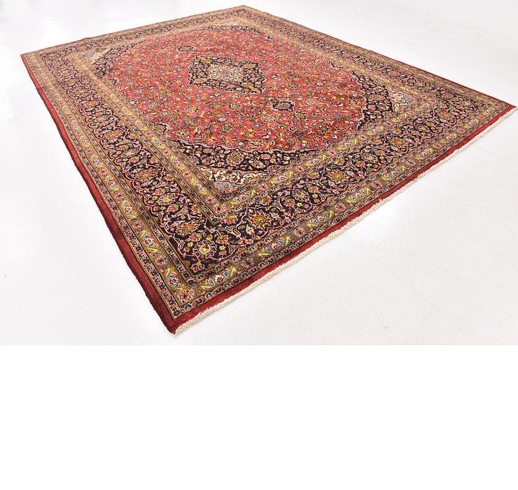 9' 7 x 12' 4 Mashad Persian Rug