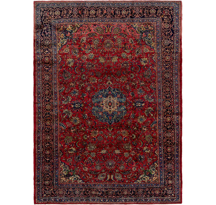 9' 9 x 13' 9 Sarough Persian Rug