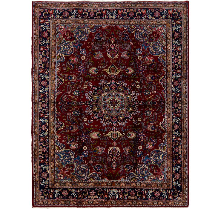 9' 4 x 12' 6 Mashad Persian Rug