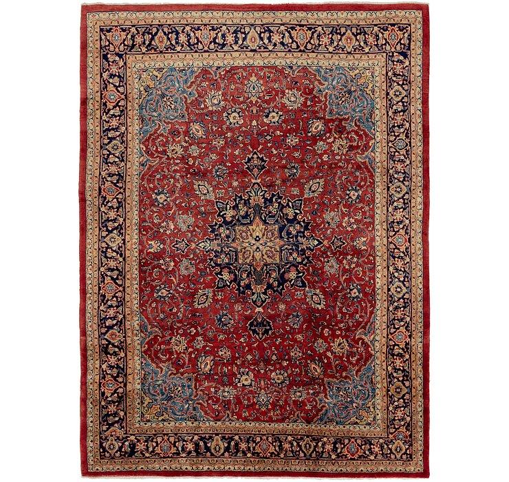 9' 8 x 13' 6 Sarough Persian Rug