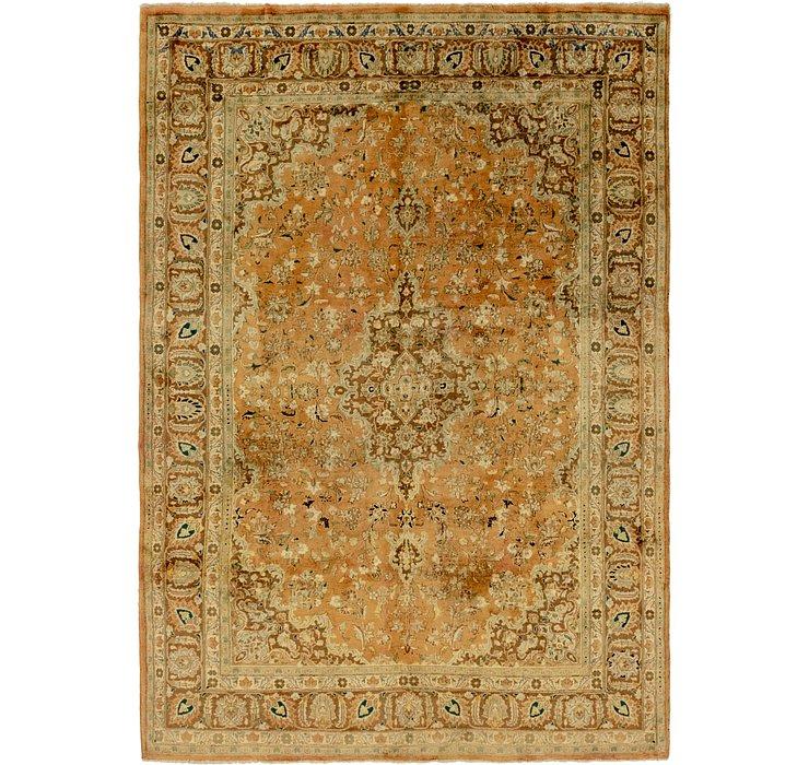 8' x 11' 4 Tabriz Persian Rug