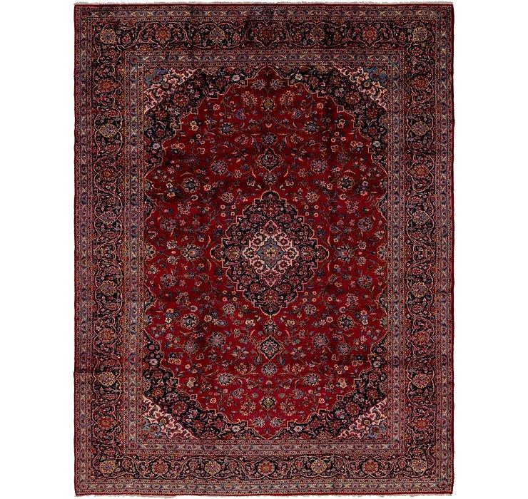 10' 2 x 13' 3 Kashan Persian Rug