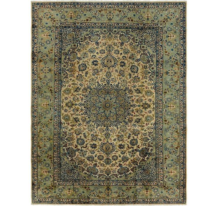 9' 6 x 12' 10 Kashan Persian Rug