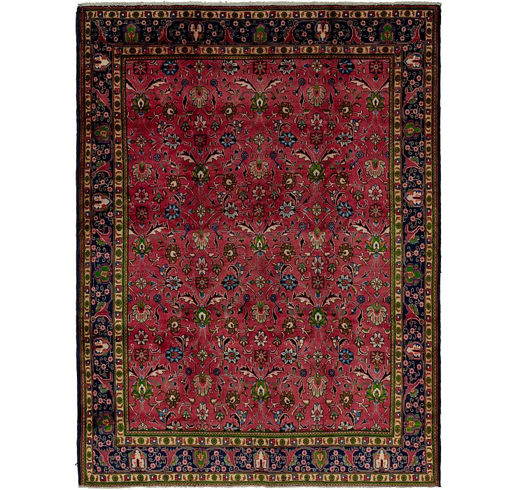 9' 5 x 12' 7 Tabriz Persian Rug