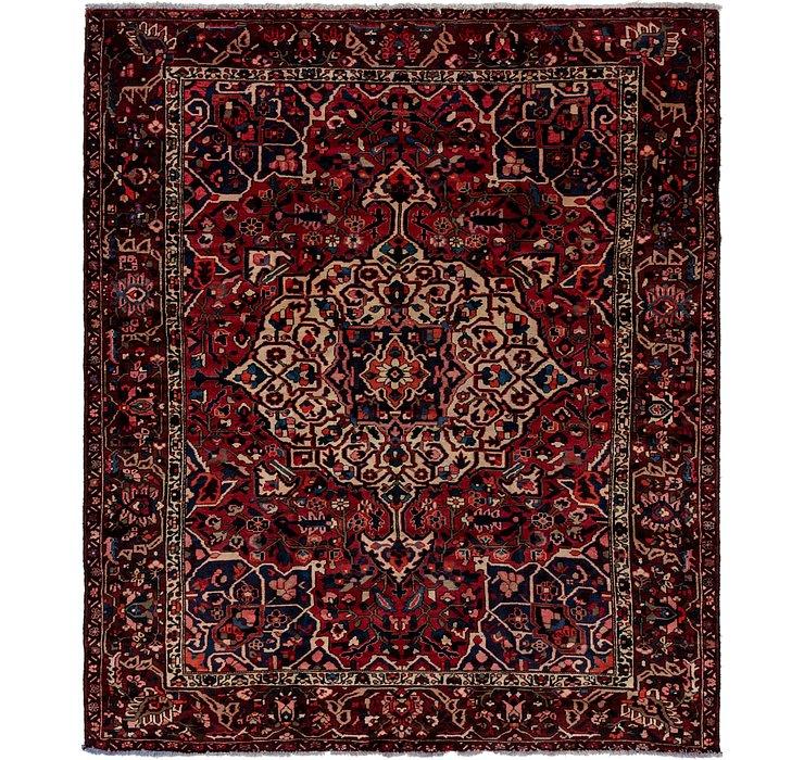 285cm x 345cm Bakhtiar Persian Rug