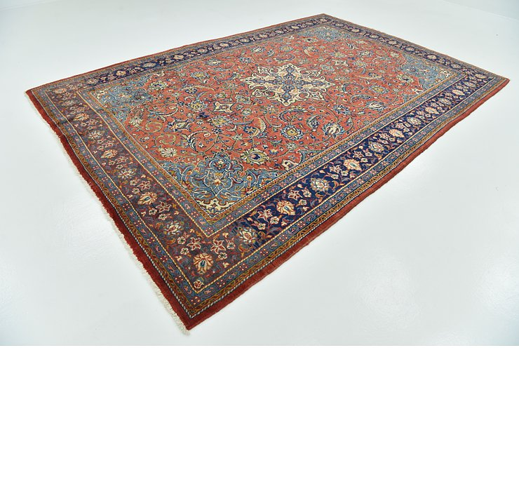 7' 9 x 11' 5 Sarough Persian Rug