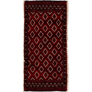Link to 50cm x 102cm Torkaman Persian Rug item page