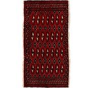 Link to 1' 10 x 3' 6 Torkaman Persian Rug
