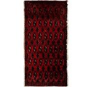 Link to 1' 7 x 3' 2 Torkaman Persian Rug