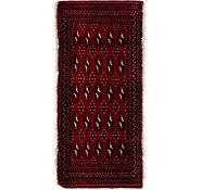 Link to 2' x 4' 6 Torkaman Persian Rug