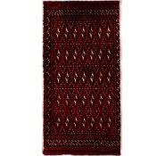 Link to 1' 7 x 3' 3 Torkaman Persian Rug