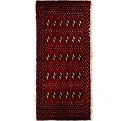 Link to 48cm x 107cm Torkaman Persian Rug