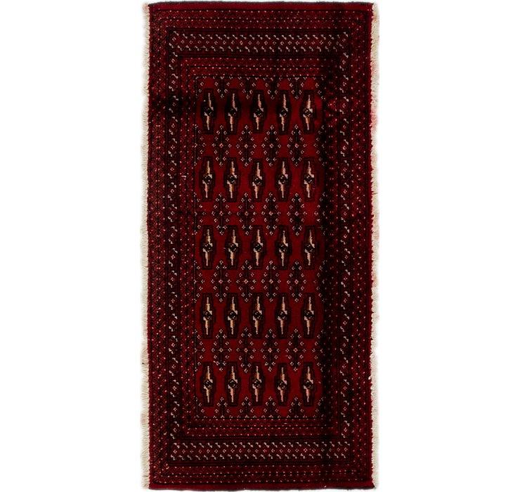 2' x 4' 4 Torkaman Persian Rug