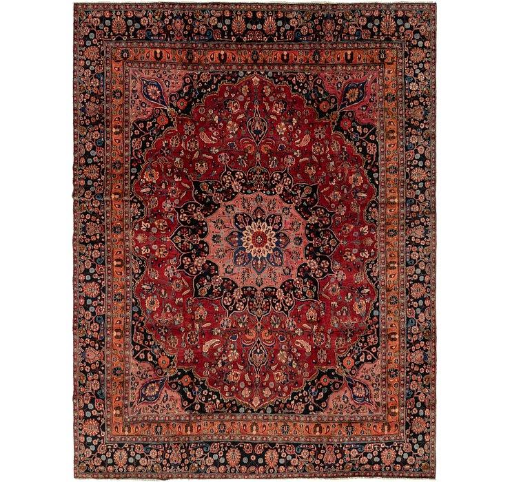 9' 3 x 12' 4 Mashad Persian Rug