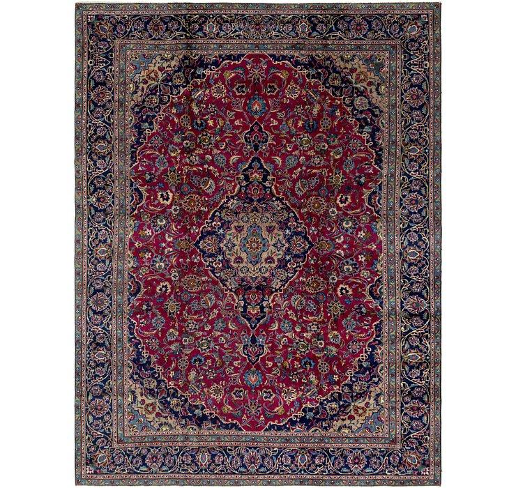 9' 3 x 12' 5 Kashan Persian Rug