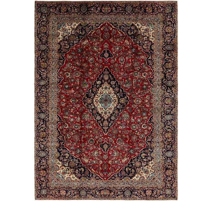 9' 5 x 13' 2 Kashan Persian Rug