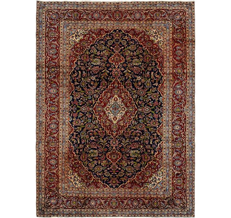 9' 2 x 11' 6 Kashan Persian Rug