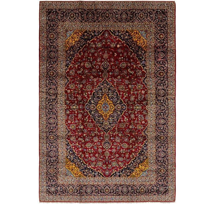 10' x 15' 2 Kashan Persian Rug