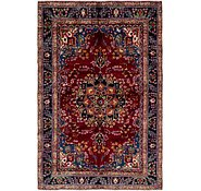 Link to 6' 1 x 9' 3 Kashan Persian Rug